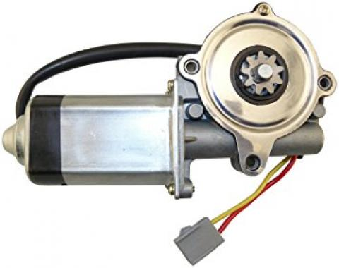 Power Window Motor, Front Left, 1989-1997