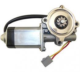 Power Window Motor, Front Left, 1989-1997