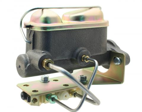 Universal Ford Style Mustang Master Cylinder Kit, Disc/Drum, 1964-1973