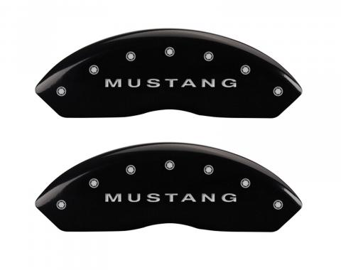 Black Caliper Covers for Ford Mustang