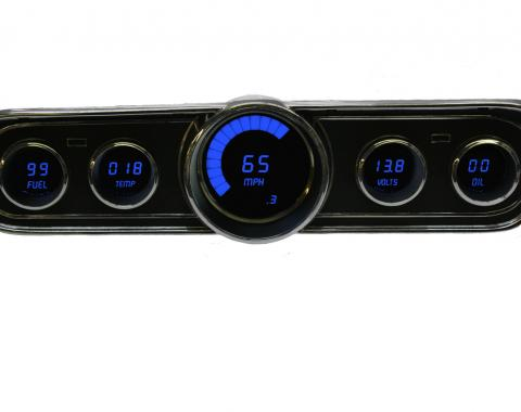 Intellitronix 1965-1966 Ford Mustang LED Digital Gauge Panel DP7001