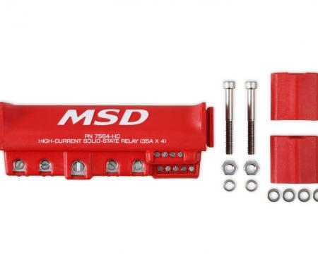 MSD High Current Relay Block 7564-HC
