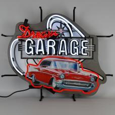 Neonetics Standard Size Neon Signs, Dream Garage 57 Chevy Neon Sign