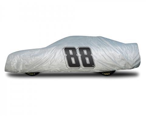 Elite Premium™ 1997-2013 Corvette Dale Earnhardt Jr Car Cover, Gray
