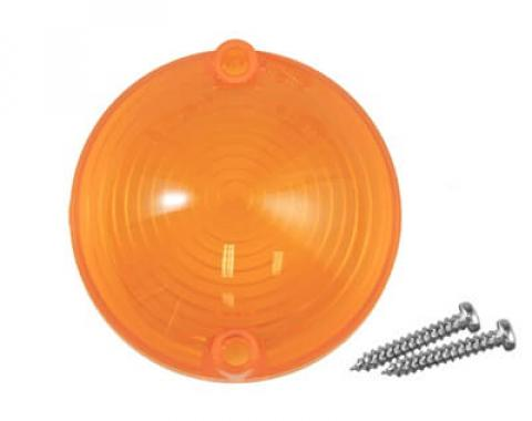 Scott Drake 64-66 PARK LAMP LENS- NO LOGO C5ZZ-13208-A