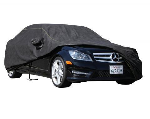 FORD THUNDERBIRD Breathable Pro Series Car Cover, Black with Mirror Pockets, 2002-2005