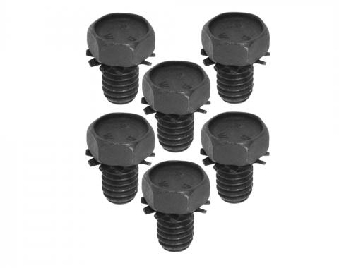 Brake Rotor Shield Hardware, 6 Piece Set