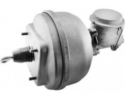 Ford Thunderbird Power Brake Booster, Remanufactured, Midland, With Master Cylinder, Clamp Type, 1965-66