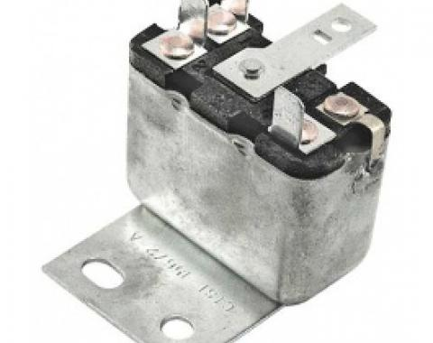Ford Thunderbird Convertible Top Relay, 3 Contact Posts, Stamping #C1SF-15672-A, 4 Required, 1964-66