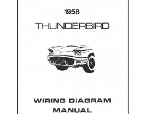 Thunderbird Wiring Diagram Manual, 8 Pages, 1958