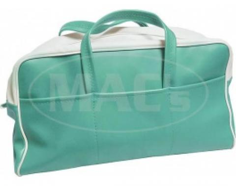 Ford Thunderbird Tote Bag, Green & White, 1955