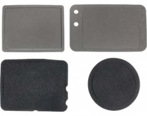 Ford Thunderbird Heater Box Seal Kit, Without A/C, 4 Pieces, 1958-60