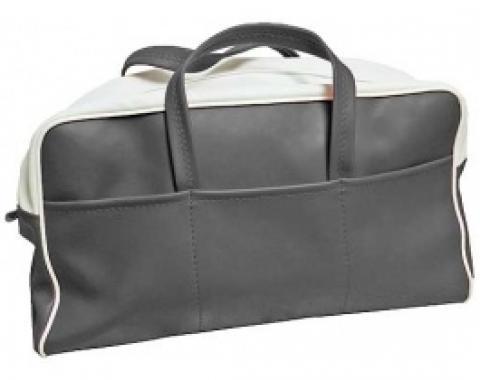 Ford Thunderbird Tote Bag, Black & White, 1955-56