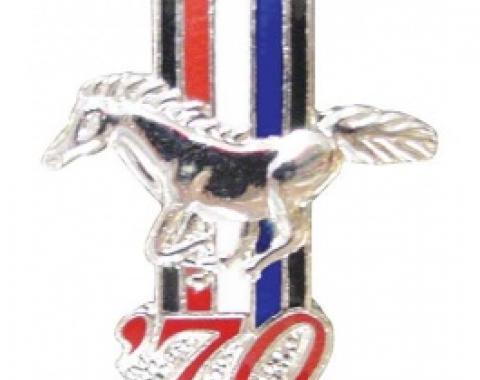 Hat Pin, 1970 Mustang
