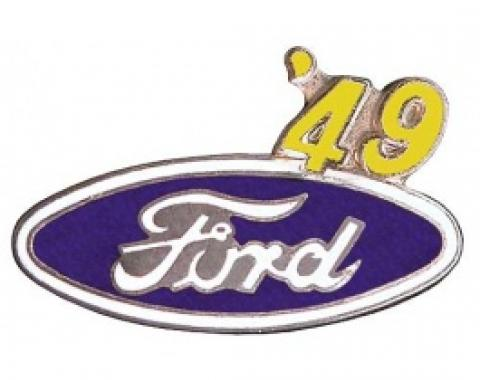 Hat Pin, Ford Oval With '49