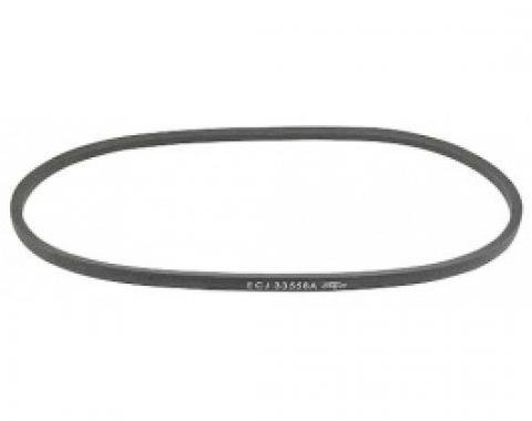 Ford Thunderbird Power Steering Belt, Without Notches, Used In Late 1957