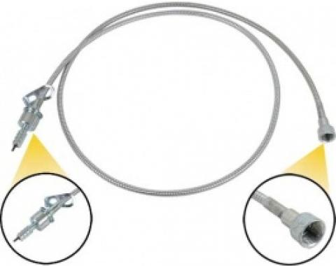 Ford Thunderbird Speedometer Cable, Housing & Core, Without Cruise Control, Before 11-13-1964