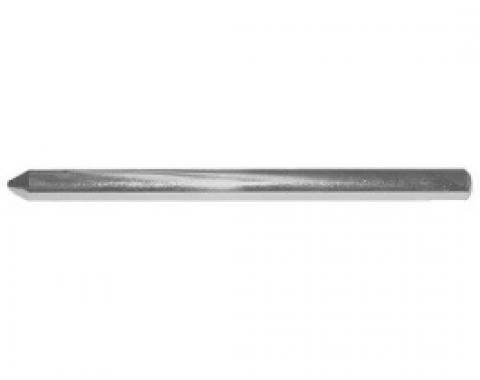 Ford Thunderbird Sun Visor Anchor Pin, Chrome, Does Not Include Tip, For Body Styles 63A & 76A, 1966