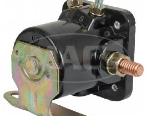 Ford Thunderbird Starter Relay, Solenoid, Replacement Type, 12 Volt, 1956-66