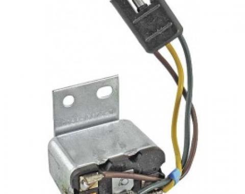 Ford Thunderbird Emergency Flasher Relay, 3 Wire Plug, 1966