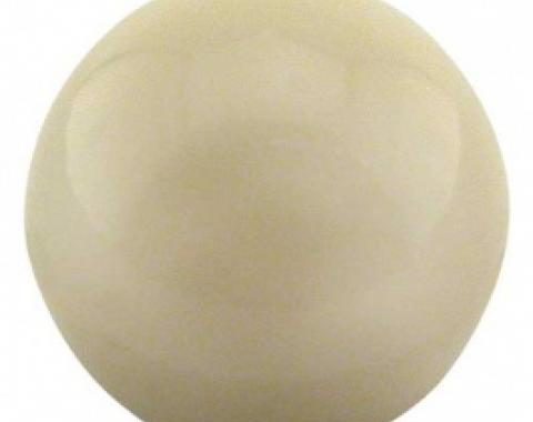Ford Thunderbird Heater Temperature & Regular Control Knob, White, No Insert, 1959-60