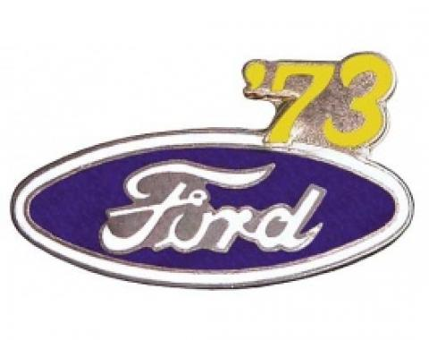 Hat Pin, Ford Oval With '73