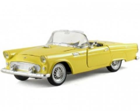 Thunderbird Model, Yellow Convertible, 1:32 Scale, 1955