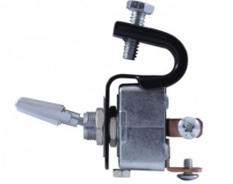 Universal Vintage Under Dash Switch, Clamp On, Three Position