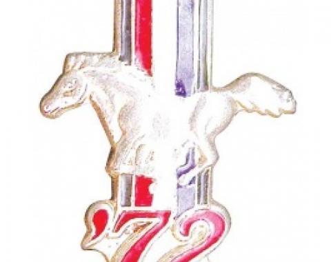 Hat Pin, 1972 Mustang
