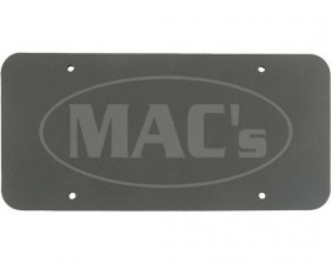 License Plate Pads, High Density Black Foam, Pair, All Years