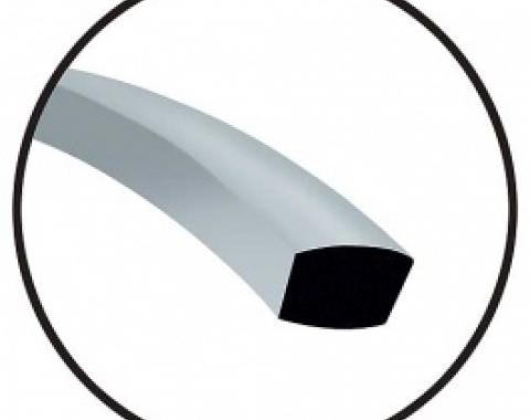 Tack Strip, 1/2 Wide X 3/8 Thick, 1958-66
