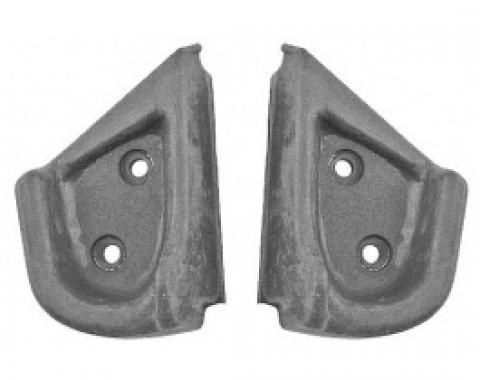 Ford Thunderbird Quarter Post Seals, Rubber, Coupe & Convertible, 1961-63