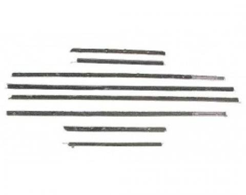 Ford Thunderbird Belt Weatherstrip Kit, 8 Pieces, Coupe, 1958-60