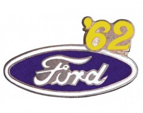 Hat Pin, Ford Oval With '62