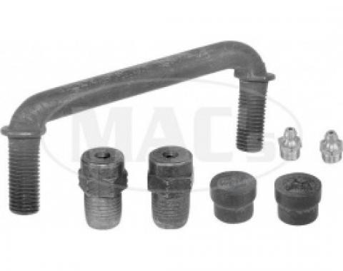 Ford Thunderbird Idler Arm, Manual Steering, With Bushings, Seals & Grease Fittings, 1958-60
