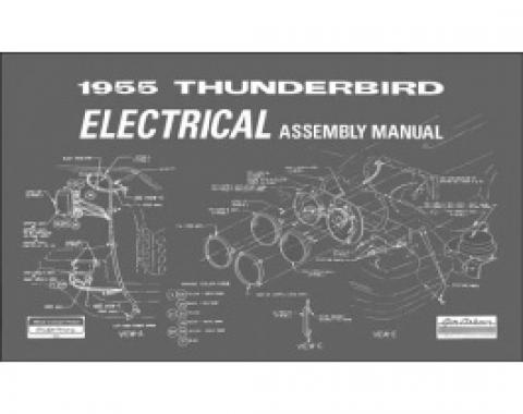 1955 Thunderbird Electrical Assembly Manual, 35 Pages