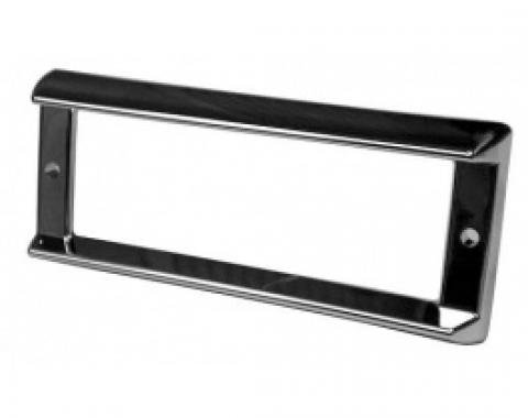 Ford Thunderbird Dome Light Bezel, Chrome, For 2-Door Hardtop Coupe, 1958-60