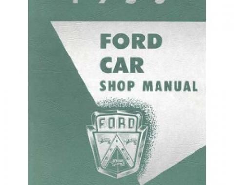 1955 Ford & Thunderbird Shop Manual, 344 Pages