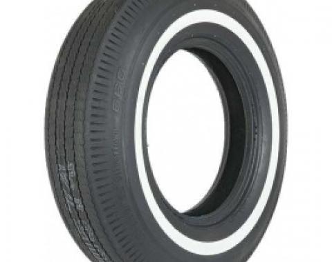 Tire, 815 X 15, 1 Whitewall, BF Goodrich, 1964-66