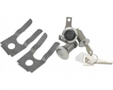 Ford Thunderbird Door Lock Cylinder & Ignition Key Set, Includes 2 Keys, 1961-64