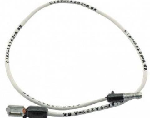 Ford Thunderbird Oil Sending Unit To Coil Wire, 14 Long, 1961-63