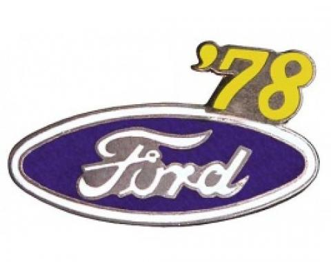 Hat Pin, Ford Oval With '78