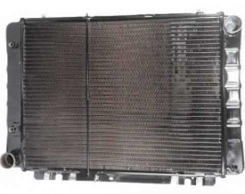 Ford Thunderbird Radiator, Early 1964 -1/4 Female Pipe Fitting for Transmission Cooler Line Ports