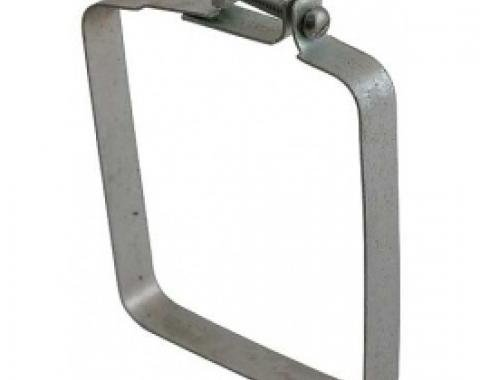 Ford Thunderbird Heater To Blower Air Duct Clamp, Square, 1955-57