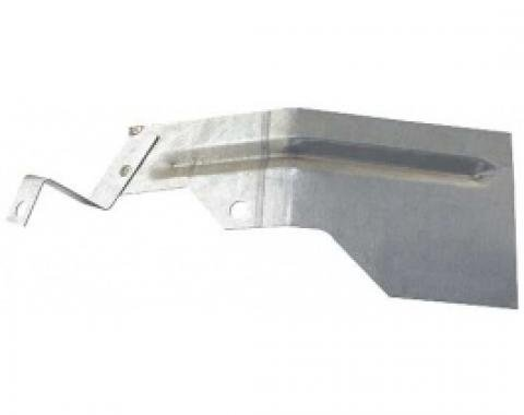 Ford Thunderbird Transmission Splash Shield, For Linkage, Ford-O-Matic Water Cooled Transmission, 1956-57