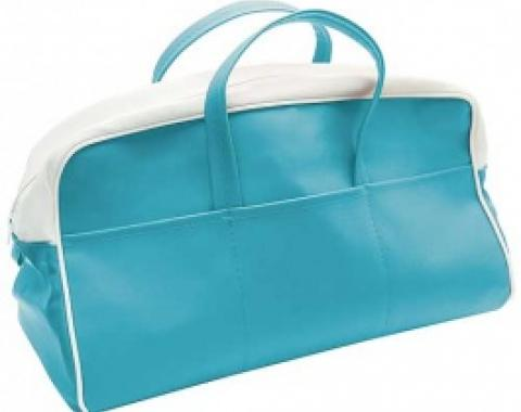 Ford Thunderbird Tote Bag, Peacock & White, 1956