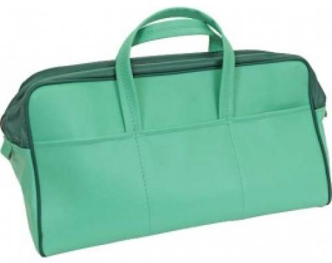 Ford Thunderbird Tote Bag, Dark Green & Light Green, 1957