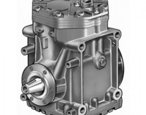 Ford Thunderbird Air Conditioner Compressor, Remanufactured, York, Aluminum Case, 1963-71