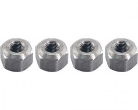 Ford Thunderbird Hex Nut Set, 4 Pieces, For Stamped Steel Valve Covers, 292 & 312 V8, 1955-57