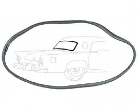 Ford Thunderbird Rear Window Seal, Rubber, 1955-57